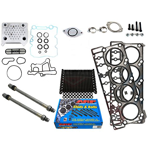Ford 6.0L 6.0 Powerstroke Kit - 2003-2004.5 - Early 6.0L Early Stage 2 Kit - ARP Studs Head Gasket Stand Pipe Oil Cooler