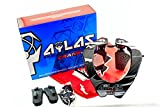 "ATLAS CRANK Neck Brace BMX Bike Protection S 33 - 36"" Che..."