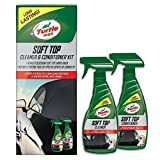 Turtle Wax 51772 All in One Soft Top Convertible Roof Hood Cleaner & Protector 2 Pack