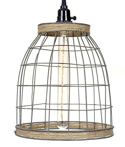 wire basket light - 4