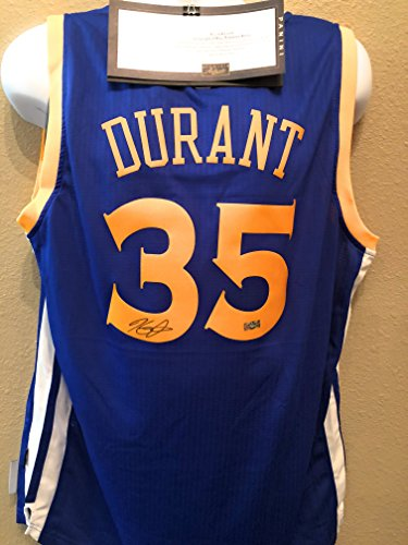 Kevin Durant Golden State Warriors Signed Autograph Swingman Jersey Panini Authentic Certified