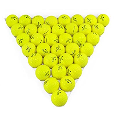 Callaway Warbird Yellow 36 Pack Golf Balls Mint Condition ()