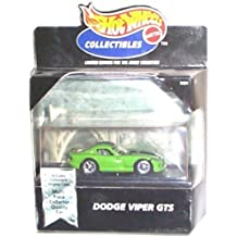 Hot Wheels Cool Collectibles - Limited Edition w/ID# - Dodge Viper GTS (Green) w/Collector Display Case