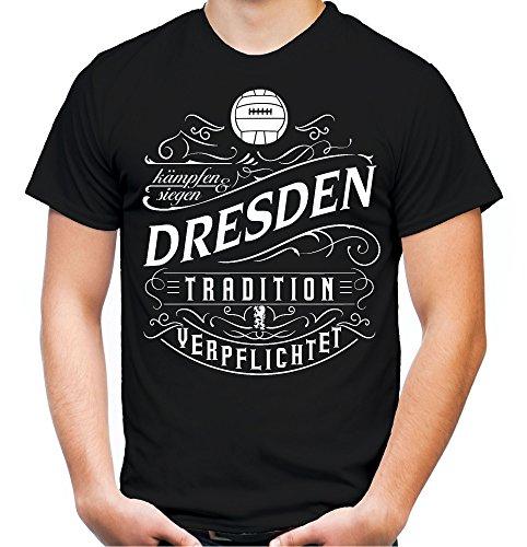 Mein leben Dresden T-Shirt | Freizeit | Hobby | Sport | Sprüche | Fussball | Stadt | Männer | Herren | Fan | M1 Front