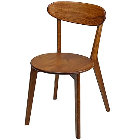 Amazon.com - RXBFD Modern Wooden Dining Chair, Simple Casual ...