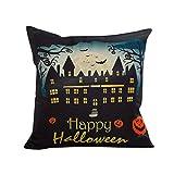 Pillow Case Neartime Halloween Sofa Bed Home Decor Pillow Case Cushion Cover (Free, A)