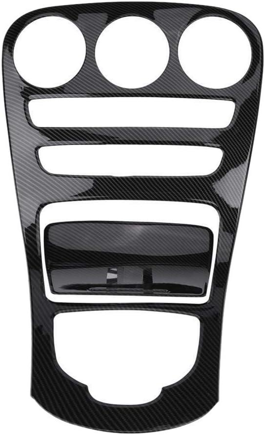 Mascherina decorativa per consolle centrale per Mercedes Classe C W205//Glc X253 in fibra di carbonio Kamenda 2 pezzi