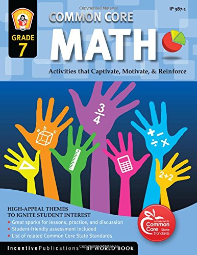 Counting Number worksheets grade 7 math probability worksheets : Amazon.com: Common Core Math Grade 7 (9781629502373): Marjorie ...