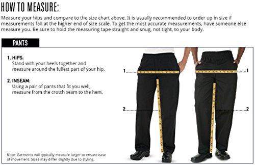 Men's Checkerboard Print Chef Pant (XS-3X) (Medium) by ChefUniforms.com (Image #3)