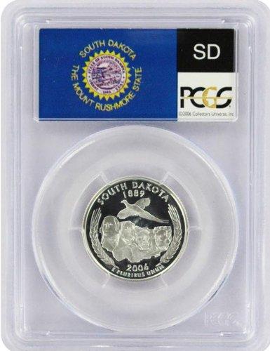 2006 South Dakota S Silver Proof Quarter PR-69 PCGS