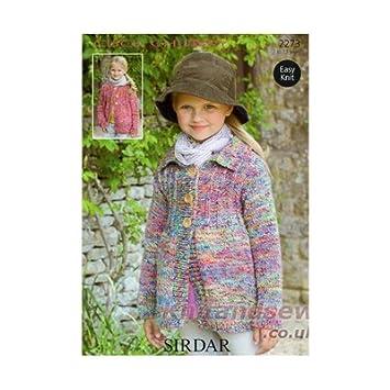0a128ea78ae8 Sirdar Click Chunky Knitting Pattern 2273  Amazon.co.uk  Baby