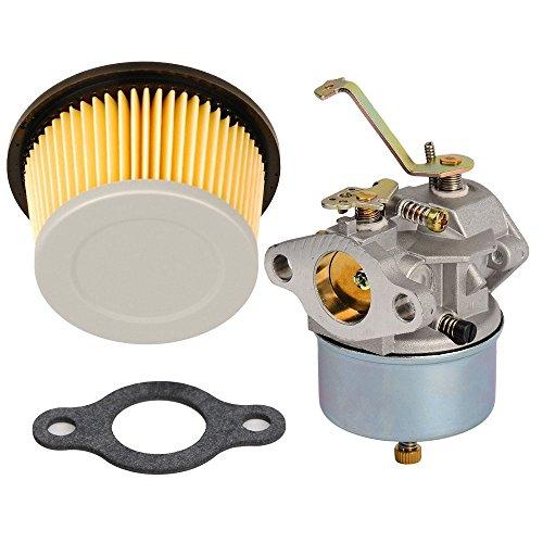 HIFROM Carburetor Air Filter Replace for Tecumseh 632631 632230 632272 Troy bilt chipper vac 47279 47261 Tecumseh H30 H50 H60 (Troy Bilt Chipper Vac)