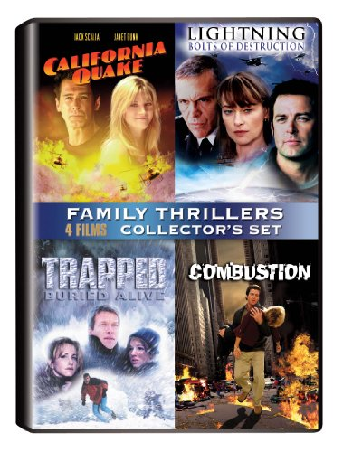 Family Thrillers Collector's Set (California Quake / Lightning Bolts of Destruction / Trapped-Buried Alive / Combustion) (Buried Alive Dvd)