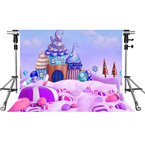 amazon com candy world backdrop cheese lollipop photography