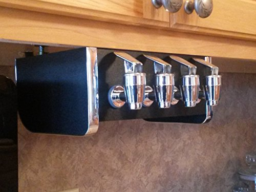 Soda Station Under Counter Home Soda Syrup Dispenser for Bag in Box BIB 4 Taps