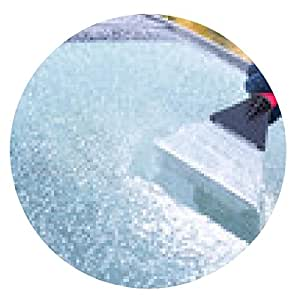 alfombrilla de ratón Mano arañar el hielo de la ventana de coche - ronda - 20cm