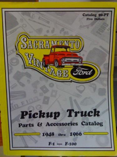 Sacramento Vintage Ford Pickup Truck Parts Accessories 1948 1966 93 PT Paperback 1992