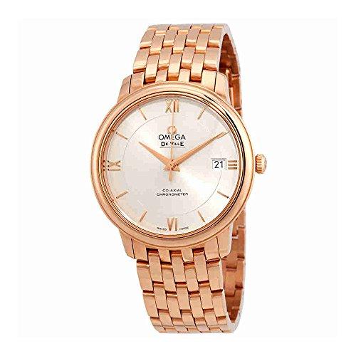 Omega-De-Ville-Prestige-Automatic-Silver-Dial-Watch-42450372002001