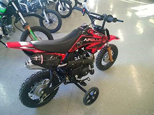 Apollo New Youth Fully Automatic DB25-70cc Dirt Bike w/Training ()