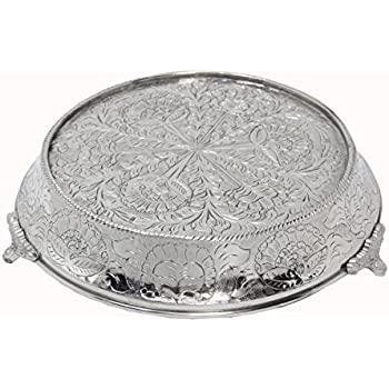 18 inch silver wedding cake stand giftbay wedding hammered design cake stand 10075