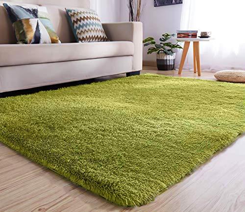 YJ.GWL High Pile Velvet Bedroom Living Room Rug (47