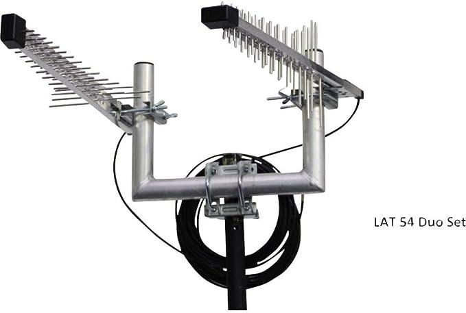 Wittenberg Antennen LTE /4G 1800 Hochleistungs-Richtantennen LAT 54 Duo