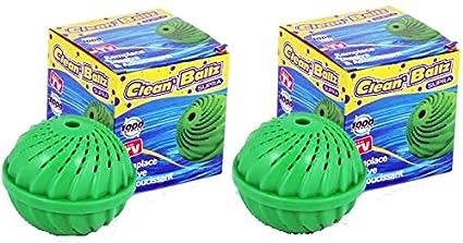 Doble pack: 2 x Clean Ballz Ropa bolas para eliminar la lavadora ...