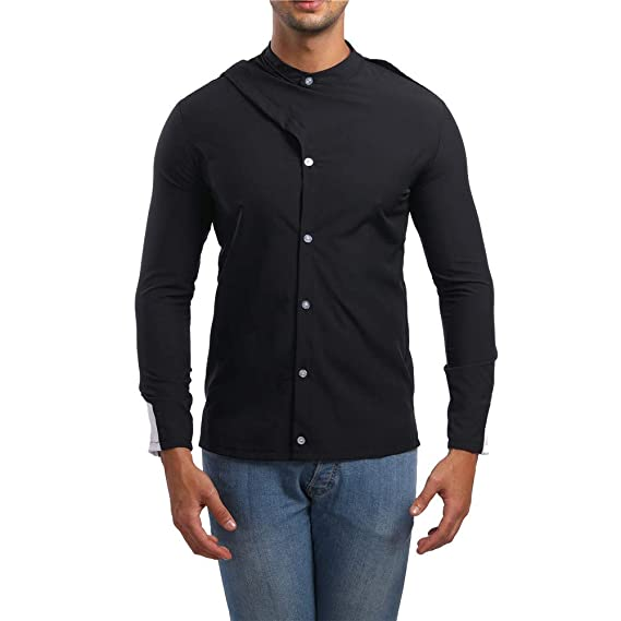 2018 Camisas Hombre Manga Larga,Camisetas Blusas Tops Hombre,Sujetador Camisa de Manga Larga
