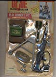 vintage toy guns - GI Joe Classic Collection M-60 Gunner's Pit Mission Gear