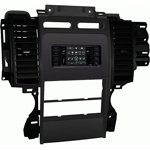 Metra 99-5722 Single/Double DIN Dash Kit for Select 2010-2012 Ford Taurus Vehicles