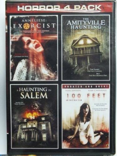 Horror 4 Pack : Annaliese: Exorcist, The Amityville Haunting, A Haunting in Salem, 100 - Salem Outlets