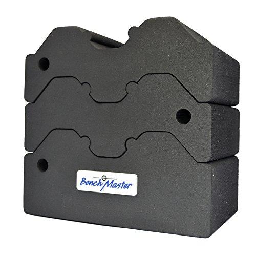 BenchMaster Weapon Rack Adjustable 3 piece BMWRABB3 Shooting Rest Gun Rest Bench Shooting