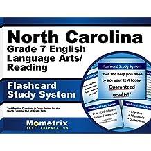North Carolina Grade 7 English Language Arts/Reading Flashcard Study System: North Carolina EOG Test Practice...