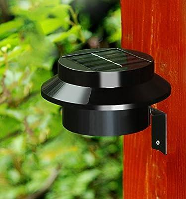 2 * LED Solar Lámpara Solar Jardín Lámpara ahorra energía solar ...