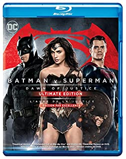 Batman v Superman: Dawn of Justice Ultimate Edition (Extended Cut, 3 Disc, Bilingual) [Blu-ray] (B01DALXO1C) | Amazon Products