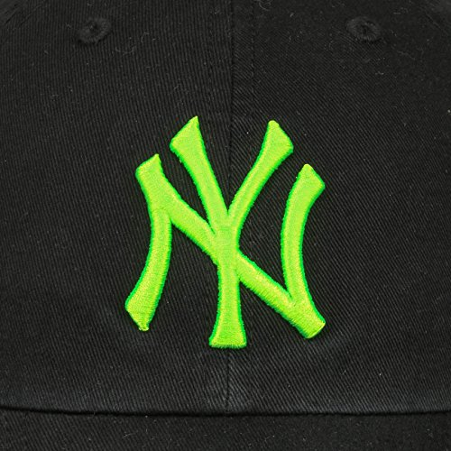 Negro marca Gorra de limpieza de Strapback Verde 47 Yankees Neonbrand la ROzqFwnw