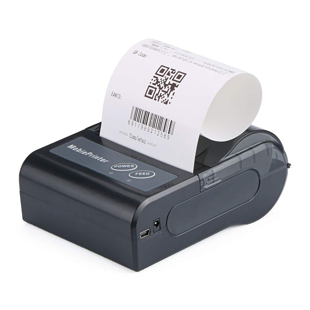 80mm Mobile Wireless Bluetooth Thermal Receipt POS Printer for iOS/Android/Windows