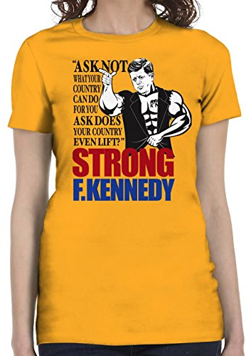 Bro Science Women's Strong F Kennedy T-Shirt XX-Large - Shop Dom Kennedy