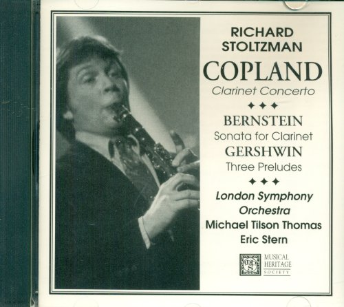opland - Clarinet Concerto / Berstein - Sonata for Clarinet / Gershwin - Three Preludes (Richard Stoltzman Clarinet)