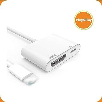 SindaRe Cable HDMI para Phone a TV, Cable adaptador de Phone a ...