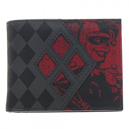 [Harley Quinn Bi-Fold Wallet Costume Accessory DC Comics] (New Harley Quinn Costumes)