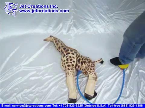 Amazon.com: Inflable gigante Jirafa, 60