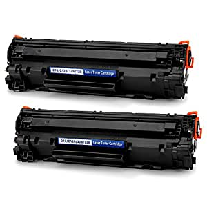 Office World Compatible Toner Cartridge Replacement for Canon 128 toner (2 Black),Compatible with Canon ImageClass D530 MF4770n MF4880dw MF4890dw D550 LaserJet pro P1606dn M1536dnf