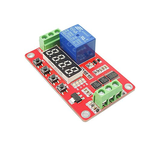 ultifunction Self-lock Relay PLC Cycle Timer Module Delay Time Switch ()