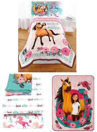 Dreamworks Spirit Riding Free Lucky Spirit Horse Pony Bedding Comforter Twin
