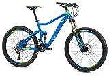 Cheap Mongoose Teocali Comp 27.5″ Wheel, Blue, 16.5″/Small