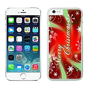 Iphone 6 cases,Merry Christmas Iphone 6 (4.7)case White Cover