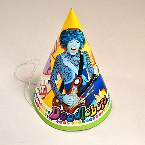 Doodlebops Paper Cone Hats (8ct)