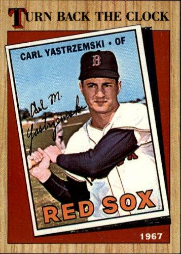 1987 Topps Baseball Card #314 Carl Yastrzemski Mint