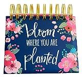 #9: bloom daily planners Undated Perpetual Desk Easel / Inspirational Standing Flip Calendar - (5.25